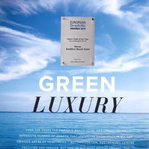 Presentation of the multi- awarded project 'Amathus Beach Hotel' at Amathus magazine