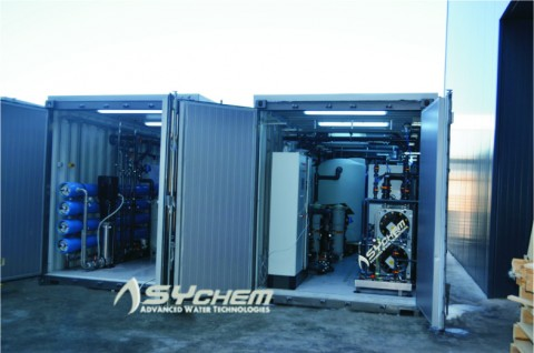 WATER TREATMENT PROJECT FOR SYCHEM S.A IN ALGERIA