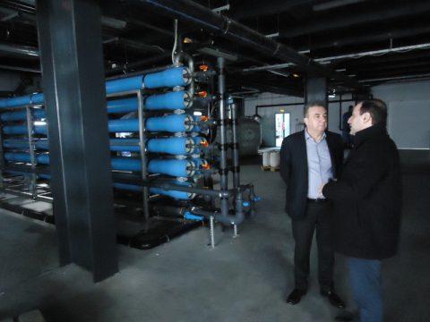 Στην πρωτοποριακή μονάδα παραγωγής 'Πράσινης Ενέργειας' από βιοαέριο ο Περιφερειάρχης Κρήτης