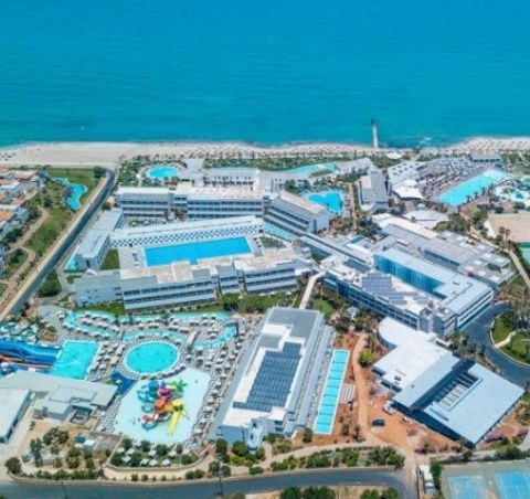 Energy integration of combined technologies with total power of 3MW for LYTTOS BEACH HOTEL 5*